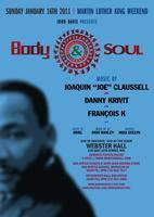 SUN. JAN. 16th BODY & SOUL - NYC Martin Luther King...