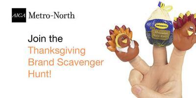 AIGA Thanksgiving Brand Scavenger Hunt