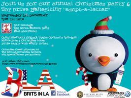 Brits in LA present The Annual Christmas Party & Toy...