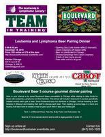 Leukemia and Lymphoma-Boulevard Beer pairing Dinner