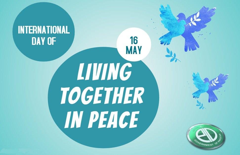 International Day Of Living Together In Peace 1 Jun 2020