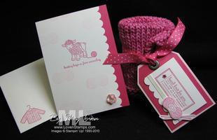 Hand Stamped for Hand Knit Creations: KITS TO GO