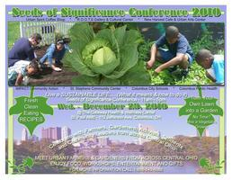 Seeds of Significance Conference Urban Farming &...
