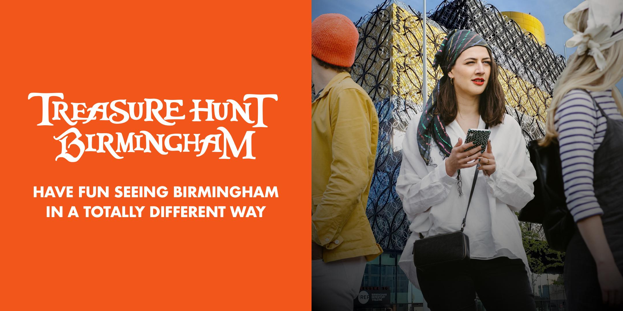 Treasure Hunt Birmingham - Tow Paths and Trades - 2-3 hours