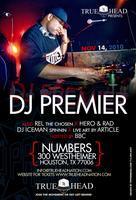 DJ PREMIER LIVE IN HOUSTON