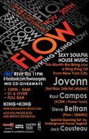 SAT. NOVEMBER 20th FLOW-LA JOVONN, RAUL CAMPOS, STEVE...