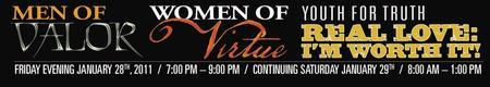 KC - Men of Valor / Women of Virtue / Youth for Truth...