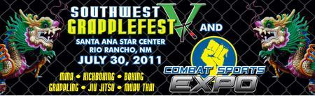 SOUTHWEST GRAPPLEFEST V and COMBAT SPORTS EXPO