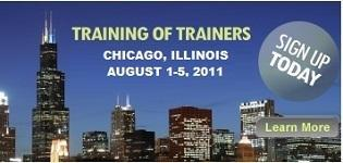 Training of Trainers, Chicago, 2011