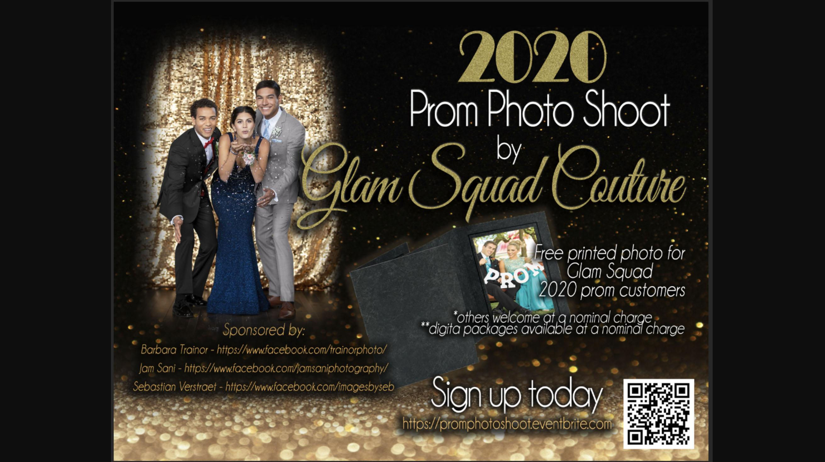 PROM 2020 PHOTO SHOOT