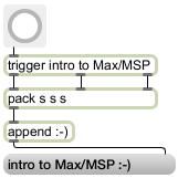 Free Max/MSP Introductory Workshop
