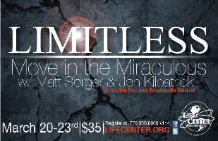 LIMITLESS: Miracles Conference, Atlanta, GA  - March...