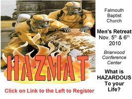 Falmouth Baptist Men's Retreat 2010