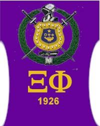 Xi Phi Chapter of Omega Psi Phi Fraternity Inc  logo