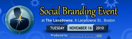 Social Branding Event w/ Special Guest Andre Porter -...
