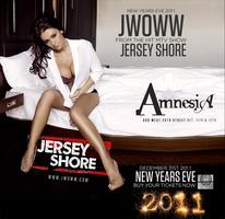 New Year's Eve with J-Woww at Amnesia NYC