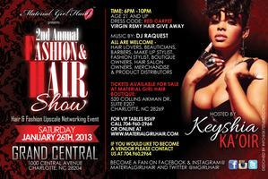 2013 Hair & Fashion show Hosted by Keyshia Ka'oir