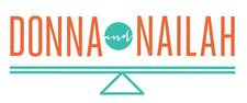 Donna + Nailah logo