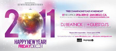 New Years Eve | The Office Bar | DJ Beatnick & Mr...