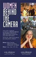 """Women Behind the Camera"""