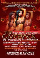 """The Give Back """"pre-thanksgiving Extravaganza"""""""