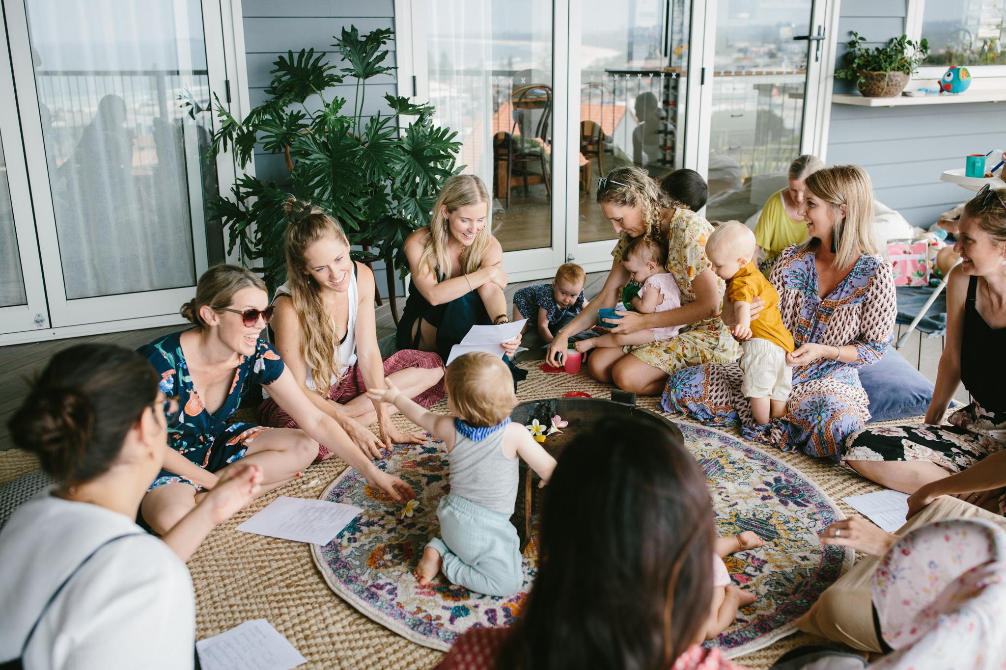 the Motherhood Gathering (Mums + Bubs 0-12 months old)