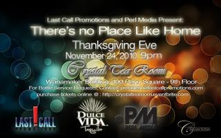 'THERE'S NO PLACE LIKE HOME'    THANKSGIVING EVE IN...