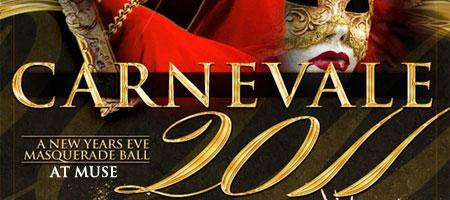 New Years Eve 2011 Masquerade Ball at MUSE Washington...