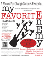My Favorite Enemy: Voices for Change Concert