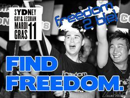 Freedom 2 b[e] - Mardi Gras March 2011