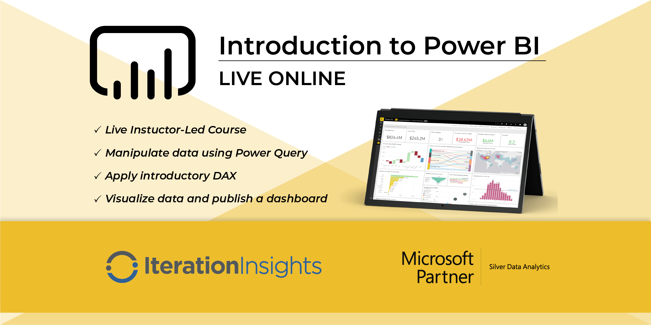 HANDS DOWN THE BEST Introduction to Power BI and DAX - Calgary Virtual 2 Day