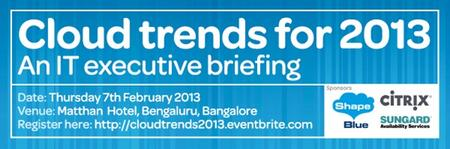 Cloud trends for 2013 - an executive briefing