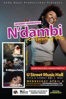 Zody Quan Productions presents: N'DAMBI, W ELLINGTON...