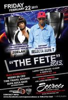 THE FETE 2013: INTERNATIONAL SOCA ARTIST ZOELAH LIVE!