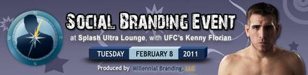 Social Branding Event w/ UFC's Kenny Florian - Boston...