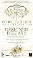 People's Choice featuring Sponsored Krome Vodka at...