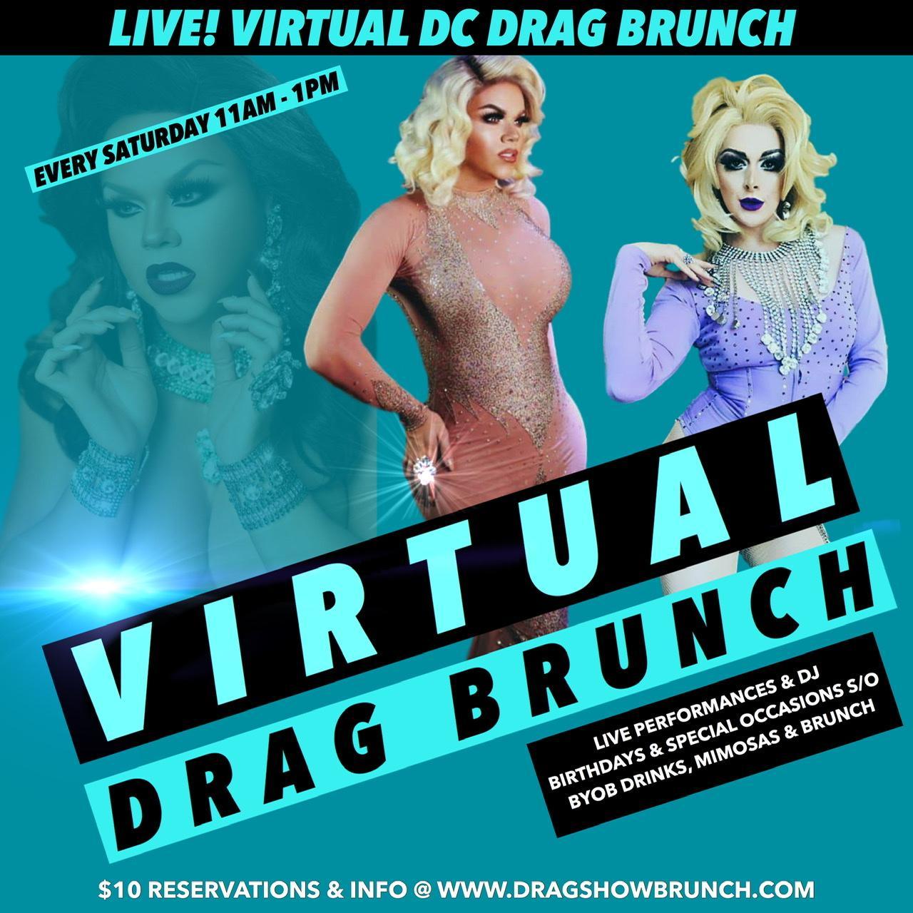Online Drag Brunch LIVE 2