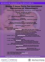 Region 9 Sigma Theta Tau Conference: Preventing...